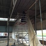 Voorbereiding asbestsanering